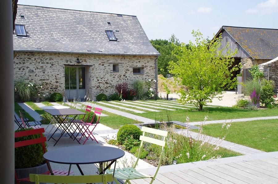 aménagement jardin - Verthème Paysage