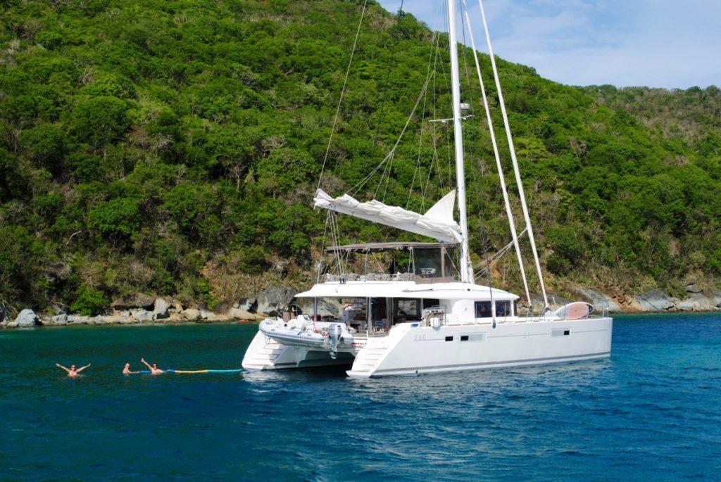 croisière antilles catamaran