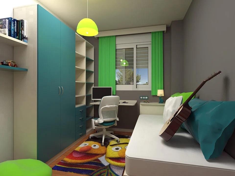 aménager bureau dans chambre d'enfant